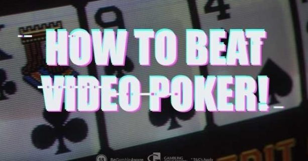 Strategy for Video Poker